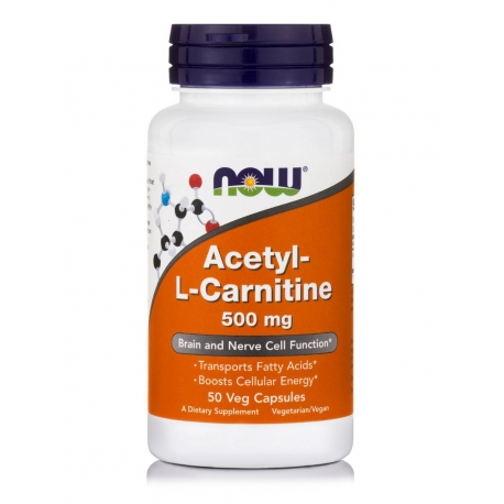Acetyl-L Carnitine 500 mg Veg Capsules