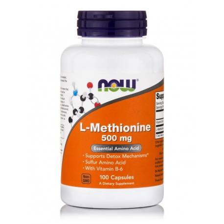 L-Methionine 500 mg Capsules
