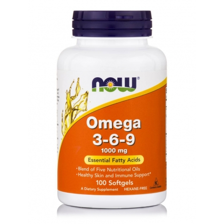 Omega 3-6-9 1000 mg Softgels